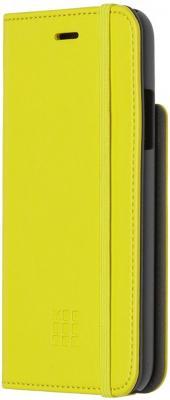 Чехол-книжка Moleskine MO2CBPXM18 для iPhone X желтый цена и фото
