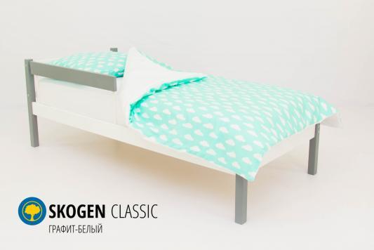 Кровать Бельмарко Skogen Classic (графит-белый) утюг 4870