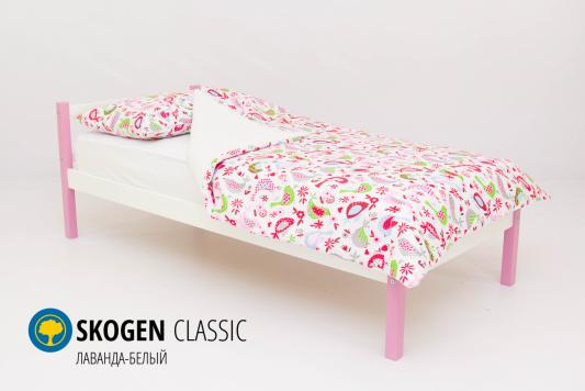 Кровать Бельмарко Skogen Classic (лаванда-белый)