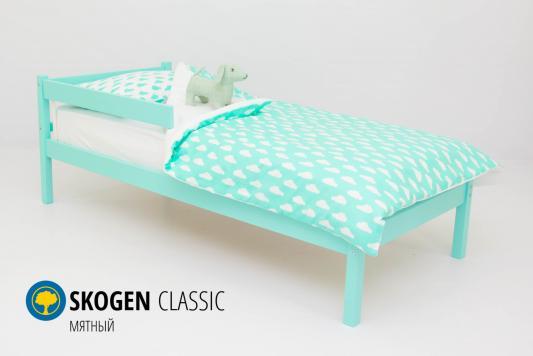Кровать Бельмарко Skogen Classic (мятный)