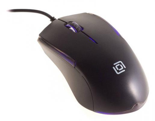 Мышь Oklick 245M EU черный оптическая (1000dpi) USB (3but)