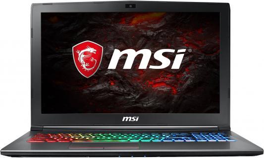Ноутбук MSI GF62 8RE-068RU (9S7-16JE22-068) i7-8750H (2.2) / 16GB / 1TB + 256GB SSD / 15.6 FHD AG / NV GTX 1060 6GB / noODD / Win10 (Black) msi gl72m 7rdx black gl72m 7rdx 1488ru