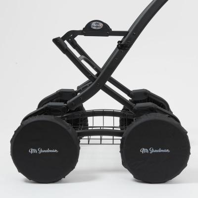 Чехлы на колёса Mr Sandman (12 дюймов) для детской коляски Черный iwona 18 дюймов