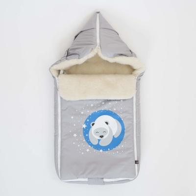 Конверт Mr Sandman Bear Светло-Серый конверт mr sandman bear жемчужный