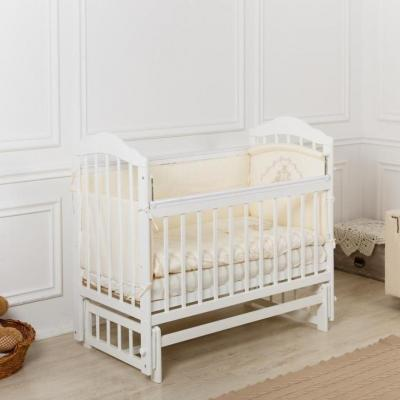 Купить Кроватка Incanto Pali поперечный маятник белый, дерево, Кроватки с маятником