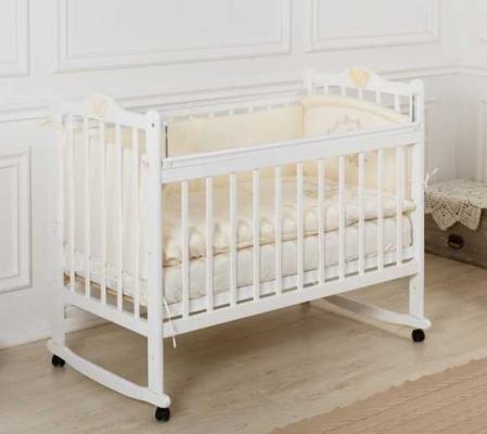 Кроватка-качалка Incanto Pali (белый)