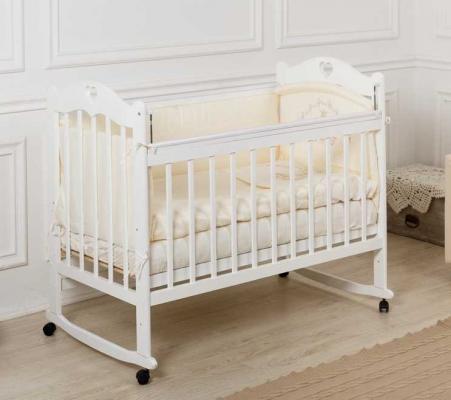 Кроватка-качалка Incanto Sofi (белый)