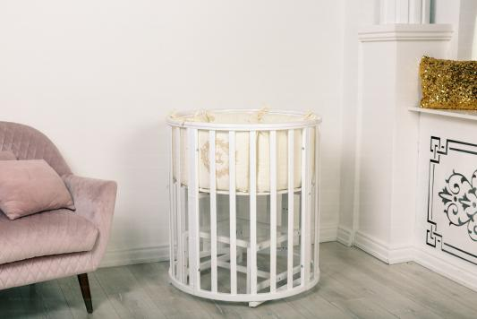 Купить Кроватка Incanto Mimi 7 в 1 (трансформер) белый, дерево, Кроватки-трансформеры