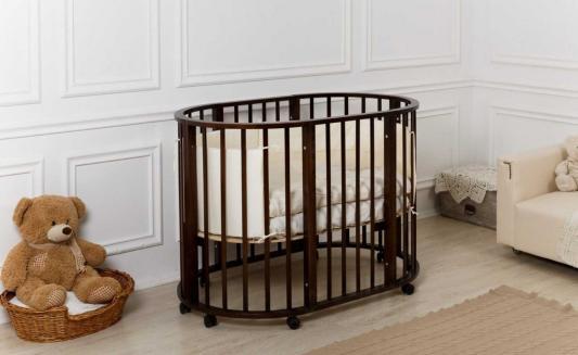 Купить Кроватка-трансформер 9-в-1 Incanto Gio (венге), береза, Кроватки-трансформеры