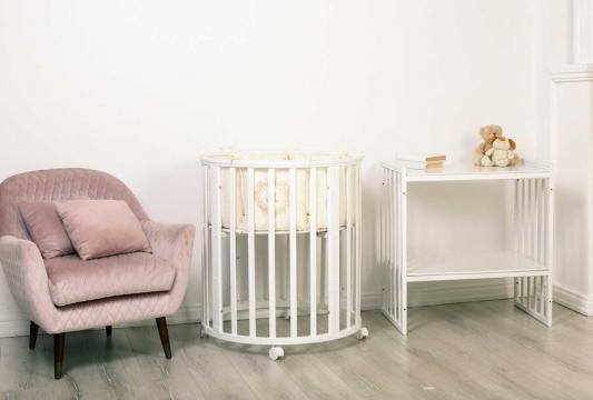 Купить Кровать Incanto Amelia 8 в 1 белый, бук, Кроватки без укачивания