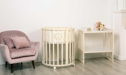 Кровать Incanto Amelia 8 в 1 слоновая кость кровать incanto uoma da vinci 10 в 1 слоновая кость