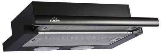 Вытяжка встраиваемая Elikor Интегра GLASS 60П-400-В2Л черный цена и фото