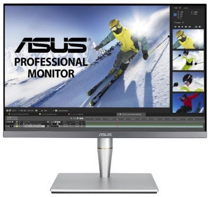 "Монитор 24"" ASUS PA24AC cерый IPS 1920x1200 400 cd/m^2 5 ms HDMI DisplayPort Аудио USB 90LM04B0-B01370 монитор asus 24 vx24ah 90lm0110 b01370 90lm0110 b01370"