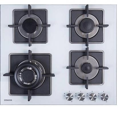 Варочная панель газовая GRAUDE GS 60.3 W белый graude skg 180 0 w