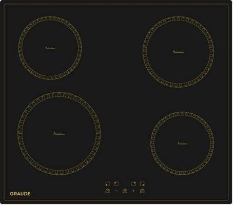 Индукционные варочные панели Graude/ 590 х 60 х 520 мм, индукционная, Сенсорное управление, 9 ступеней нагрева, Функция таймера, Функция Booster, Функция распознавания посуды,Индикация остаточного тепла, Автоматическое отключение, Защита от детей, Исполнение: без рамки,