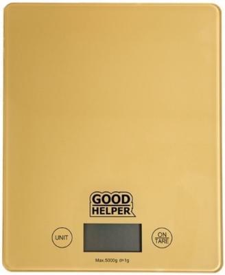 Весы кухонные Goodhelper KS-S04 бежевый кухонные весы goodhelper ks s04 гол