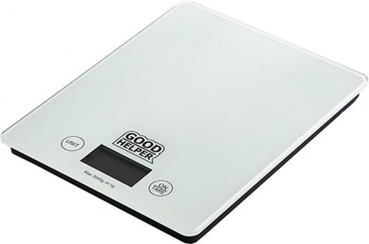 Весы кухонные Goodhelper KS-S04 белый кухонные весы goodhelper ks s04 гол