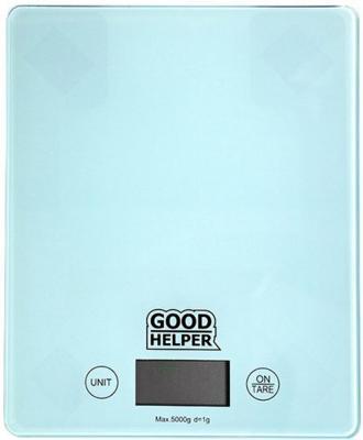 Весы кухонные Goodhelper KS-S04 голубой мультиварка goodhelper c202