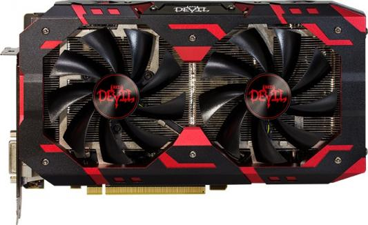 Видеокарта PowerColor Radeon RX 590 Red Devil PCI-E 8192Mb GDDR5 256 Bit Retail (AXRX 590 8GBD5-3DH/OC) видеокарта powercolor 8192mb rx 570 axrx 570 8gbd5 dhdm dvi