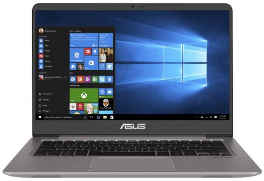 Ноутбук ASUS Zenbook UX410UF-GV011R (90NB0HZ3-M00500) ноутбук asus zenbook ux430un gv203t 90nb0gh4 m05250