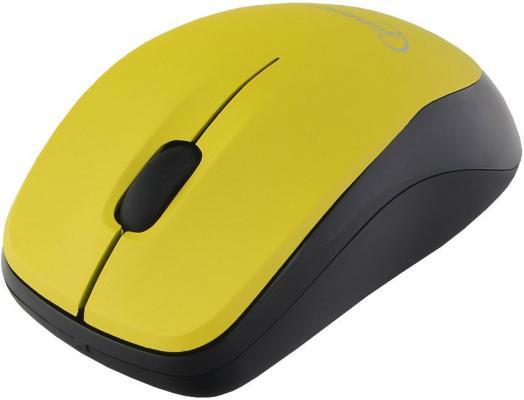 Gembird MUSW-360-LM {Мышь беспроводная, 2.4ГГц, лайм, мини, 3кн, 1000DPI, блистер} цена и фото