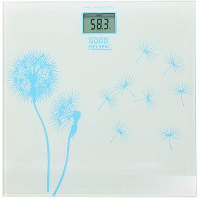 Весы напольные Goodhelper BS-S40 белый рисунок
