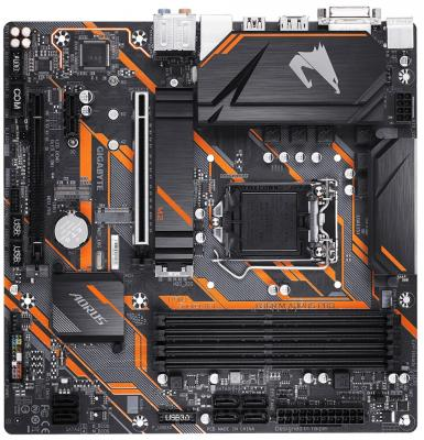 Материнская плата GigaByte B360 M AORUS PRO Socket 1151 v2 B360 4xDDR4 2xPCI-E 16x 1xPCI-E 1x 6 mATX Retail материнская плата gigabyte b360 aorus gaming 3 wifi socket 1151 v2 b360 4xddr4 3xpci e 16x 2xpci e 1x 6 atx retail