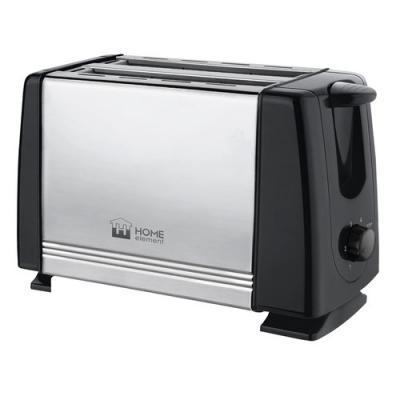 HOME ELEMENT HE-TS500 Тостер черный жемчуг цена и фото