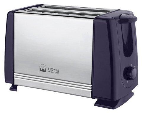 HOME ELEMENT HE-TS500 Тостер темный топаз цена и фото