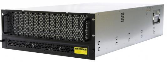 4U 60 x 3.5 hot swap bays, hot swap JBOD with dual SAS 12G expander controller, Tool-less HDD tray, 1400W 1+1 hot swap redundant 80+ Platinum, with BMC + Toolless Rail Kit/ 435mm Rail(for 1M Rack use, can not use cable arm)
