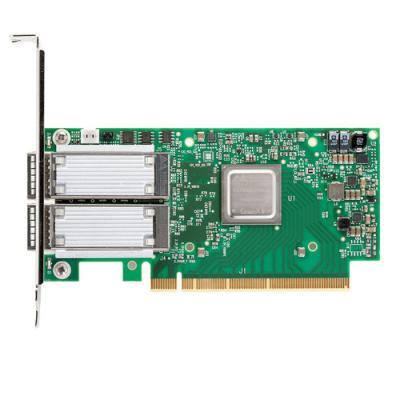 ConnectX®-5 EN network interface card, 100GbE dual-port QSFP28, PCIe3.0 x16, tall bracket, ROHS R6 сетевой адаптер mellanox connectx 3 pro en network interface card 10gbe single port sfp pcie3 0 x8 8gt s tall bracket rohs r6 mcx311a xcct