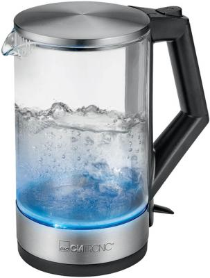 Чайник Clatronic WKS 3641 G inox электрический чайник clatronic wk 3501 g inox