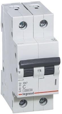 RX3 Авт.выключатель 4,5кА 32А 2П C