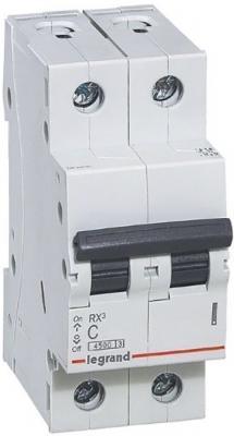 RX3 Авт. выключатель 4,5кА 40А 2П C