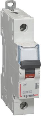 Автоматический выключатель DX? 10000 - 16 кА - тип характеристики B - 1П - 230/400 В~ - 32 А - 1 модуль