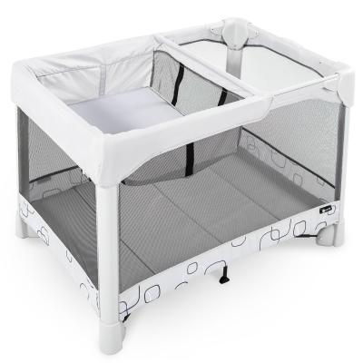 Манеж-кроватка 4moms Breeze Classic (серый)
