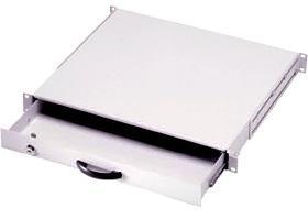 1U 19 ящик для клавиатуры, серый