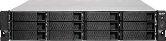 Сетевое хранилище QNAP TS-1263XU-4G 12x2,5 / 3,5 рэковое сетевое хранилище rack nas qnap ts 863u 4g ts 863u 4g