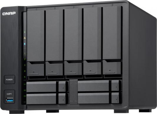 channel QNAP TS-932X-2G 9-Bay NAS, AL324 64-bit quad-core 1.7GHz, 2GB DDR4 SODIMM RAM (1 x 2GB, max 16GB), 5 x 3.5 and 4 x 2.5 drive slots, 2 x 10GbE SFP+ LAN, 2 x GbE LAN, 3 x USB 3.0, hardware encryption, Built-in speaker, max 2 UX-800P/UX-500P expansion units netac k390 usb 3 0 2 5 portable external hard drive with keypad lock