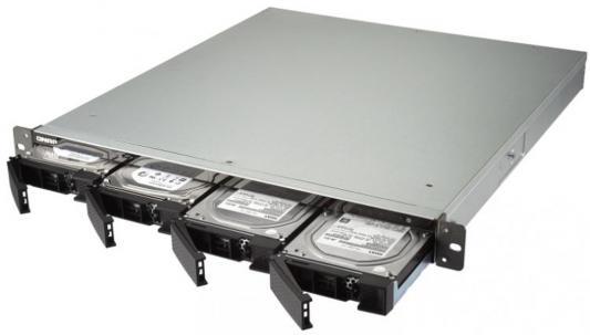 Сетевое хранилище QNAP TS-453BU-2G 4x сетевое хранилище qnap ts 451 2g 4 отсека для жестких дисков