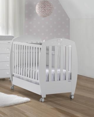 Кроватка 120x60 Micuna Valeria Relax Luxe(White) micuna copito