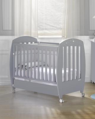 купить Кроватка 140x70 Micuna Valeria Relax Luxe Big(Berliner Grey) по цене 37170 рублей