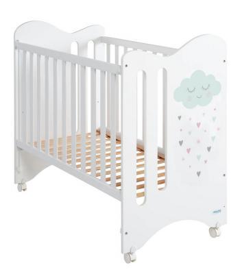 Купить Кроватка 120x60 Micuna Lili(White), белый, массив бука / МДФ, Кроватки без укачивания