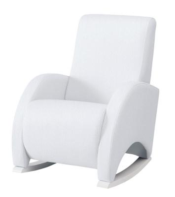 Купить Кресло-качалка с Relax-системой Micuna Wing/Confort White Кожаная обивка(Цвет обивки: Leatherette White), Кресла-качалки для мамы