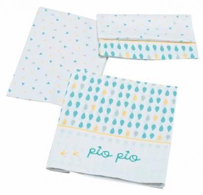Сменный комплект белья 120х60 Micuna Pio-Pio TX-821 колыбель micuna mini fresh с текстилем мо 1560 white pio pio