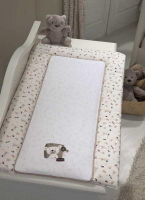 Купить Покрывало-матрасик для пеленания 50х80см Funnababy My Bear, бежевый, Матрасики для пеленания
