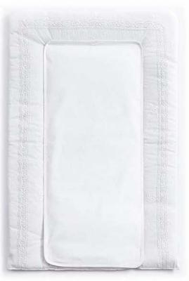 Купить Покрывало-матрасик для пеленания 50х80см Funnababy Premium Baby (white), белый, Матрасики для пеленания
