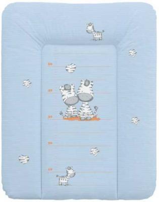 Пеленальный матраc на комод 70x50см Ceba Baby W-143 (zebra blue) comix durable 50 page 12 stapler w staples blue 3 pcs
