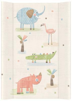 Пеленальный матраc 70см Ceba Baby W-103 (elephant gang ecru) 60cm high quality lovely plush elephant with blanket soft toys stuffed animal elephant doll for baby