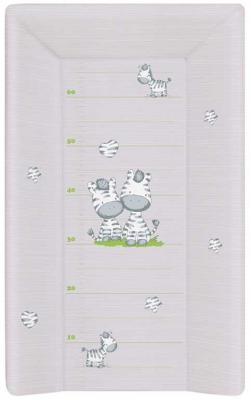 Пеленальный матраc на кровать на жёстком основании 70см Ceba Baby W-201 (zebra grey) пеленальный матраc на кровать на жёстком основании 70см ceba baby w 201 dream roll over white